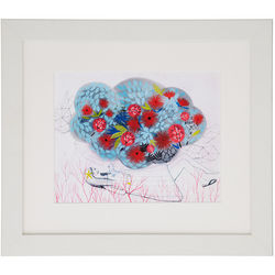 Spring Cloud Framed Art Print