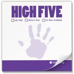 High Five Praise Pad Sticky Notes