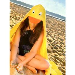 Duck Hooded Terry Towel