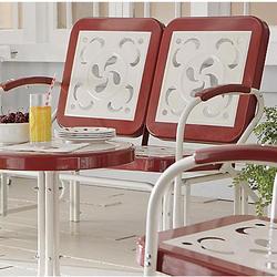 Vintage Glider Chair