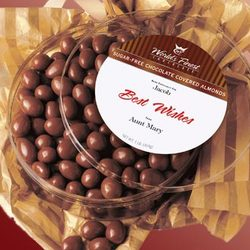 Sugar-Free Chocolate Covered Almonds