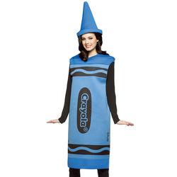 Blue Adult Crayola Crayon Costume