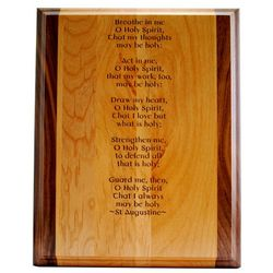 Holy Spirit Prayer Confirmation Plaque