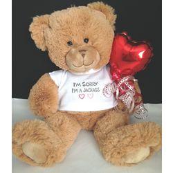 I'm Sorry, I'm an Idiot Teddy Bear