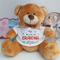 All Our Hearts Personalized Teddy Bear