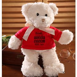Personalized Elvis Let Me Be Your Teddy Bear