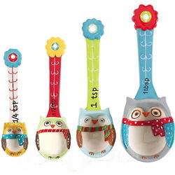 Snowy Owls Measuring Spoons
