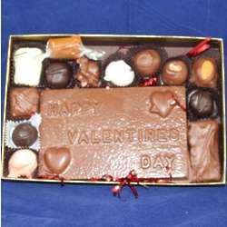 Chocolate Valentine Candy Bar Gift Box