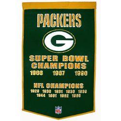NFL Vintage Wool Dynasty Banner