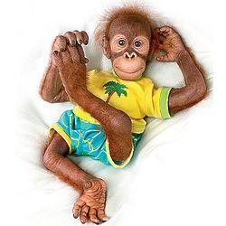 Ollie the Orangutan Doll
