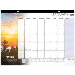 Motivational 2016 Deskpad Calendar