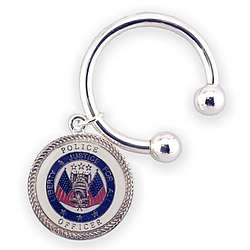 Personalized Police Officer Key Chain