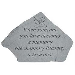When Someone You Love Becomes a Memory Mini Garden Memorial