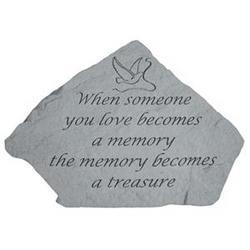 When Someone You Love Becomes a Memory Mini Garden Memorial