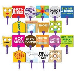 Party Shticks Handheld Signs