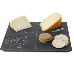 Reclaimed Slate Cheese Board
