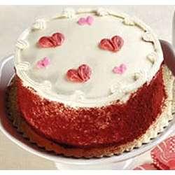My Valentine Red Velvet Cake