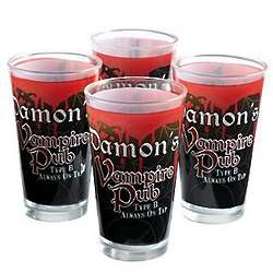 Personalized Vampire Pub Glass