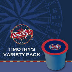 Timothy's Coffee K-Cup Variety Pack