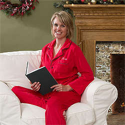 Personalized Red Holiday Cheer Pajamas