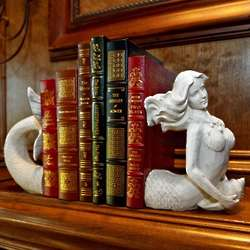 Good Fortune Mermaid Bookends
