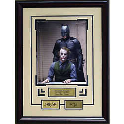 Dark Knight Engraved Signatures Photo