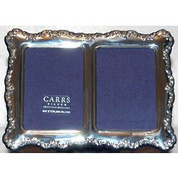 English Double Sterling Silver Frame
