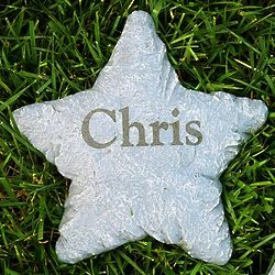 Personalized Small Star Stepping Stone