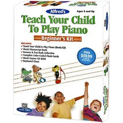 Teach Your Child To Play Piano Beginner's Kit