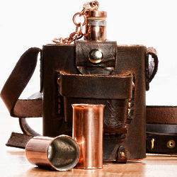Ethan Allen Edition Copper Flask Set