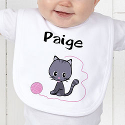 Choose Your Design Personalized Baby Girl's Bib