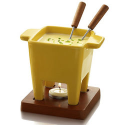 Yellow Tapas Fondue Set