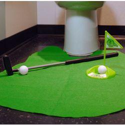 Putting Around Toilet Golf Game