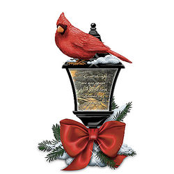 Your Spirit Lives Forever in My Heart Thomas Kinkade Lantern