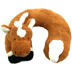 Horse Travel Buddy Neck Pillow for Children