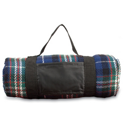 Picnic Blanket with Carrying Straps