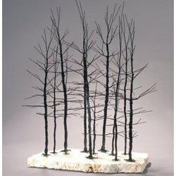 Wire Bonsai Tree Forest Scene Sculpture