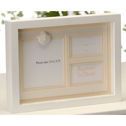 Baptized in Christ Shadowbox Frame