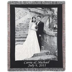 Portrait Custom Photo Blanket