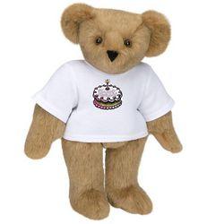 Happy Birthday Cake Teddy Bear