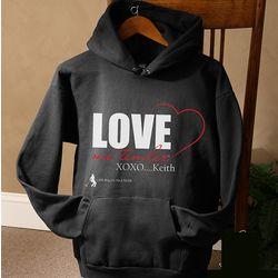 Personalized Love Me Tender Elvis Sweatshirt