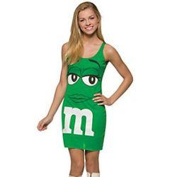 M&M's Green Tank Dress