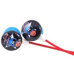 Vintage Captain America Stereo Earbuds