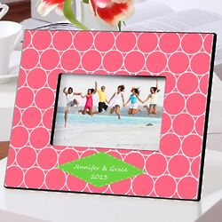 Personalized Hula Hoop Picture Frame