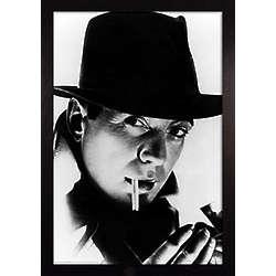 Framed Humphrey Bogart Print