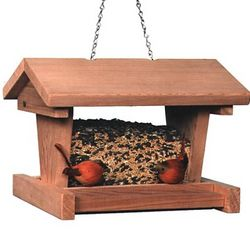 Large Cabin Bird Feeder