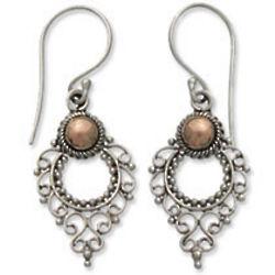 Joy Sterling Silver Dangle Earrings