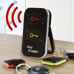 Wireless Remote Dual Key Finder