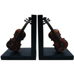 Violin Bookends