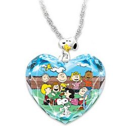 PEANUTS Forever In My Heart Commemorative Necklace